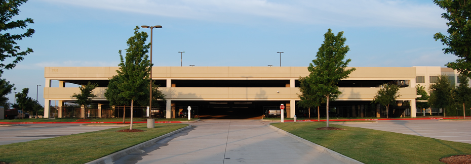 Capital One Parking Garages