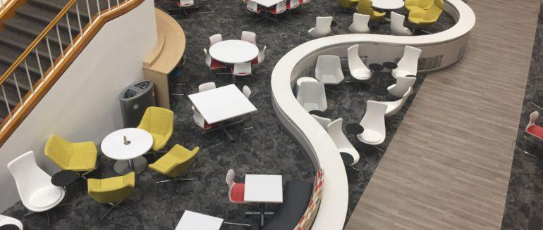 SRO Interior Renovations, Atrium